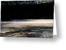 Hike Eagle Creek Greeting Card