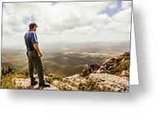 Hiking Australia Greeting Card
