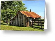 Hill Country Barn Greeting Card