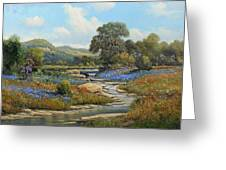 Hill Country Draw Greeting Card