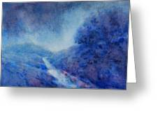 Hill Country Storm, No. 1 Greeting Card