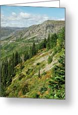 Hill Of Glory Greeting Card