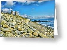 Hill Of Rocks Greeting Card
