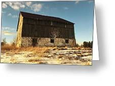 Hill Top Barn Greeting Card