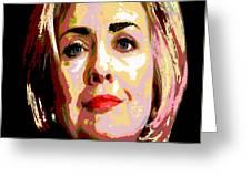 Hillary Greeting Card