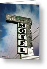 Hillcrest Motel Greeting Card