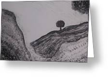 Hills Greeting Card