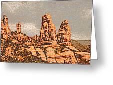 Hills In Sedona Greeting Card