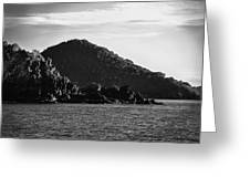 Hills Of Coron Greeting Card