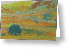 Hills Of Dakota Dream Greeting Card