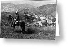 Hills Of Guanajuato - Mexico - C 1911 Greeting Card