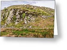 Hills Of Hadrians Wall England Greeting Card