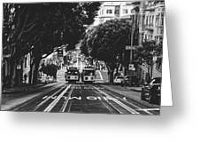 Hills Of San Francisco Greeting Card