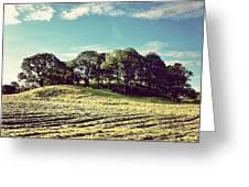 #hills #trees #landscape #beautiful Greeting Card