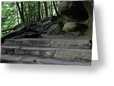 Hillside Trail Greeting Card