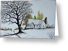 Hilltop Church Greeting Card