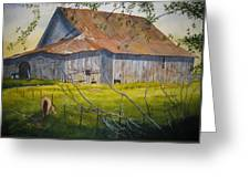 Hilltop Haven Greeting Card