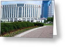 Hilton Nashville Tennessee Greeting Card