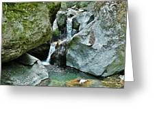 Himalayan Waterfalls Greeting Card
