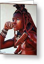Himba Greeting Card