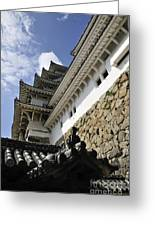 Himeji Castle Tower Greeting Card