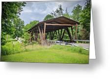 Hindman Memorial Covered Bridge Greeting Card