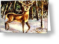 Hinds Feet Greeting Card