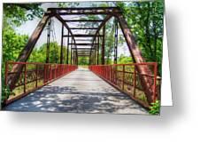 Hinkson Creek Bridge Greeting Card