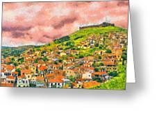 Hios Volissos Greeting Card