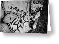 Hip Hop We Don't Stop Greeting Card