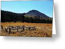 Hiram Peak Greeting Card