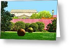 Hirshhorn Colour Greeting Card