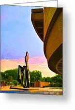 Hirshhorn Sky Greeting Card