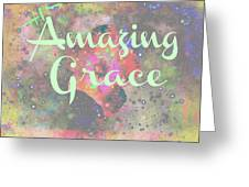 His Grace Greeting Card