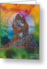 His Loves Embrace Divine Love Series No. 1007 Greeting Card