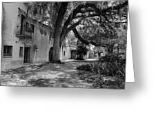 Historic Bok Gardens Home Greeting Card