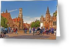 Historic Bruges Greeting Card