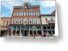 Historic Buildings Deadwood South Dakota Greeting Card