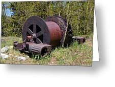 Historic Caribou Mine Greeting Card