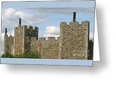 Historic Castle Greeting Card