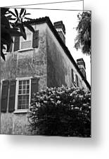 Historic Charleston Home Greeting Card