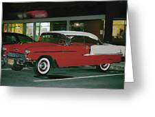 Historic Chevy Greeting Card