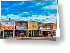 Historic Downtown Emmett 01 Greeting Card