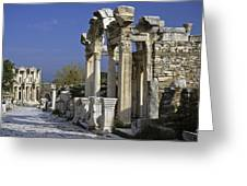 Historic Ephesus Greeting Card