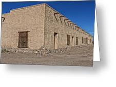 Historic Fort Leaton- Texas Greeting Card