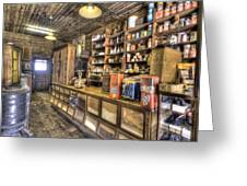 Historic General Store Greeting Card