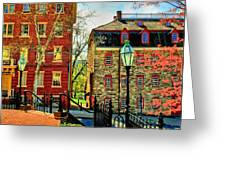Historic Intersection Greeting Card