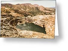Historic Iron Ore Mine Greeting Card
