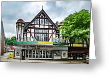 Historic Keswick Theater In Glenside Pa Greeting Card