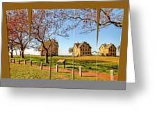 Fort Hancock Sandy Hook Nj In Spring  Greeting Card